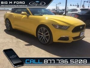 2017 Ford Mustang EcoBoost Premium  - Leather Seats - $227.85 B/