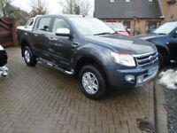2014 64 REG Ford Ranger 2.2TDCi ( 150PS ) 4x4 AUTO Limited NO VAT (23000 MILES )