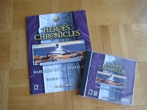 """Heroes Chronicles """" Warlords of the Wasteland"""", PC"""