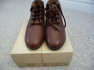 Brand New Girl's Leather Shoes/Booties - Size 2.5 - 2 Styles London Ontario image 2
