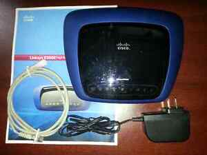 LINKSYS CISCO E3000 DD-WRT MEGA 480mhz cpu & usb port