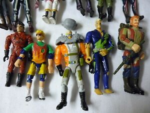 Jonny Quest Adventure Action Figures by Gallob and accessories