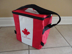 Canada Flag insulated lunch bag cooler Canada Day NEW with tags