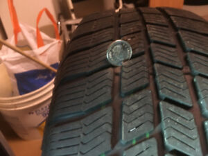 Winter tires with Alloy rims 195 60 R15 Bolt Pattern 4 X 114.3
