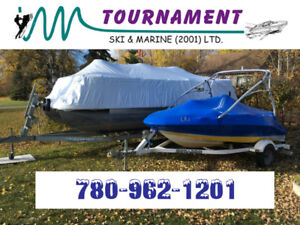 Boat Shrink Wrapping & Transhield Covers! Marine Service!