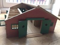 Children's Christmas Toy Animal barn, £10 only