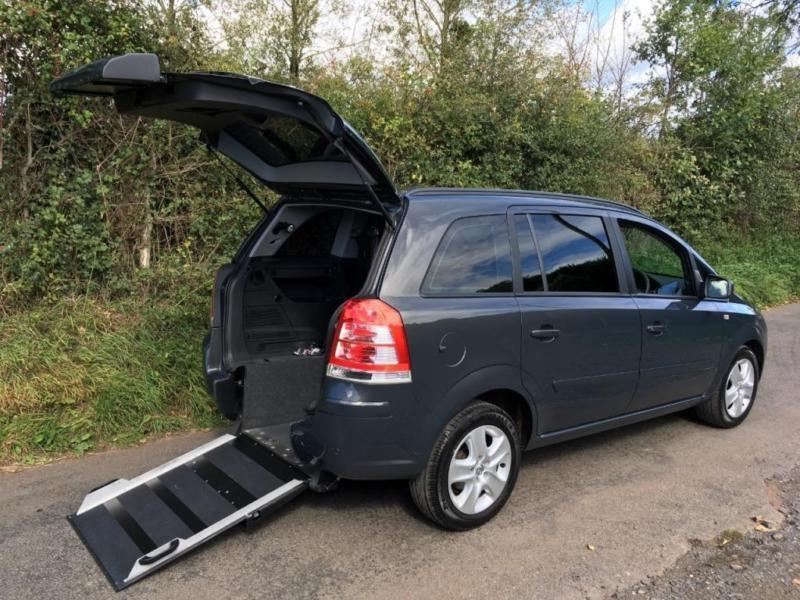 2014 Vauxhall Zafira 1.8i Exclusiv 5dr WHEELCHAIR ACCESSIBLE VEHICLE 5 door W...