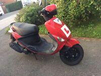 PGO Ligero 125cc Moped
