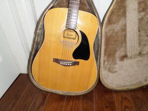 Saga dreadnaught acoustic Guitar