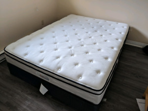 Queen size bed with box spring