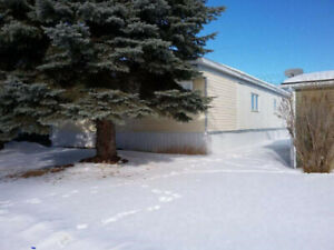 Home and owned Lot Eckville no rent 99500.00