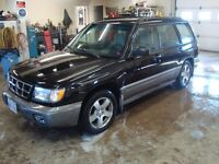 "1998 SUBARU FORESTER AWD 5DR WAGON $2000 TAX""S IN"