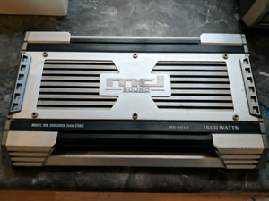 MCI Sound 1600Watt Amplifier + 1200Watt MCI Sound Box