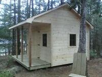 Solid & Superior Bunk houses, Garden Sheds and Guest Cottages.