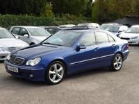 2004 MERCEDES BENZ C270 2.7TD AUTO CDI AVANTGARDE SE DIESEL SAT NAV LEATHER