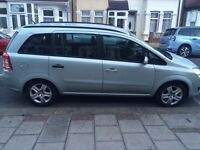 Vauxhall zafira,2009, 1.6 petrol, 116k mileage, PCO car for sale