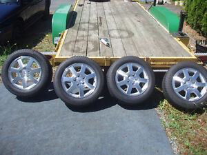 CTS Cadillac alloy rims and tires P225,55R/16