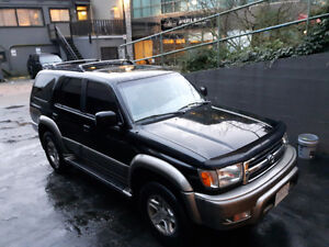1999 Toyota 4Runner SR5 Limited, suv North Shore Greater Vancouver Area image 1