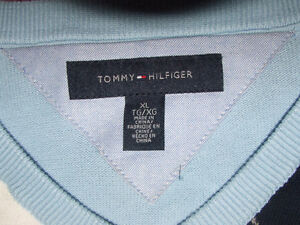 Tommy Hilfiger V-Neck Sweater (Light Blue) - $40.00 Belleville Belleville Area image 3