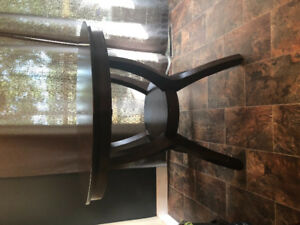 Beautiful dark brown table for sale