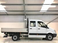 2013 MERCEDES-BENZ SPRINTER DROPSIDE CREW CAB PICKUP 7 SEATER 316CDI 160BHP LWB