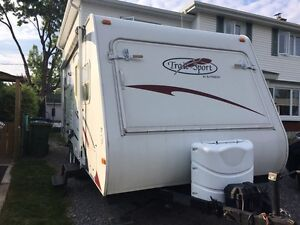 Roulotte hybride Trail Sport 21 pied 2008