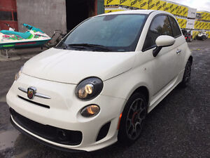 2013 Fiat 500 Sport Turbo Coupe (2 door)