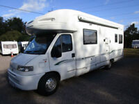 Bessacarr E765 6 Berth Motorhome For Sale