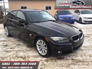 2011 BMW 3 Series 328xi ...CLEAN CARPROOF...LOADED...LOW KMS!!