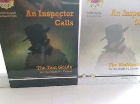 GCSE English Literature An Inspector Calls Revisoon Guide + Workbook