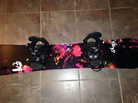 Like NEW K2 snowboard package! Everything you need!