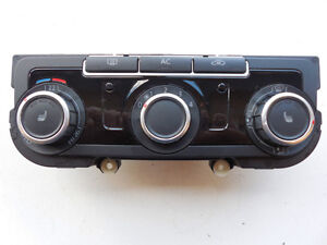 VW TIGUAN JETTA GOLF 2009-2014 CLIMATE TEMPERATURE CONTROL UNIT
