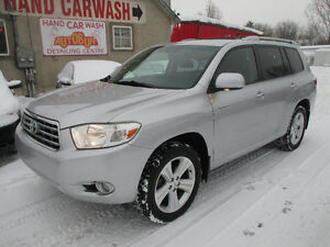 2009 TOYOTA HIGHLANDER LIMITED AWD // BACK UP CAM // 7 SEATER