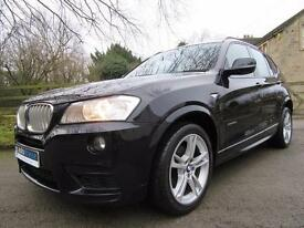 2012 BMW X3 M Sport 3.0 Diesel XDrive Automatic In Carbon Black