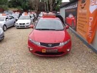 HONDA CIVIC 1.4 I-VTEC SE Red Manual Petrol, 2009