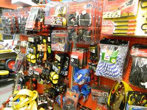 Tie-Straps, Door Knobs, Hardware, Hooks, Hand tools & MORE!
