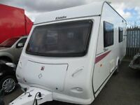 ELDDIS EXPLORE 546 6 BERTH 2010 MODEL TOURING CARAVAN