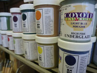Pottery Supplies, Clay, Tools, Glaze, Firings