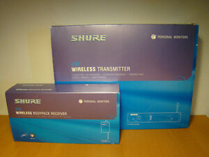 SHURE P4T Wireless Transmiter and P4R Wireless Bodypack Receiver