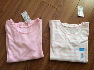 BNWT girls tops, $8 for both