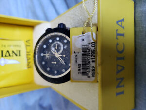 Mens New INVICTA WATCH for sale