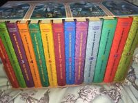 LEMONY SNICKET- A SERIES OF UNFORTUNATE EVENTS (13 books)