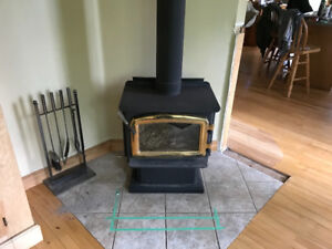 Regency F1100 wood stove