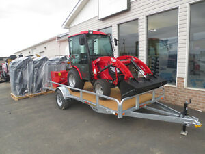 2018 TYM 254 tractor package deal