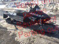 Snowmobiles used parts