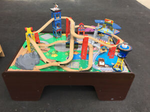Kidkraft Train Table Set