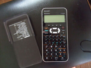 Calculatrice scientifique Sharp EL-W535X