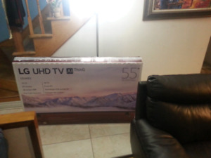 "LG 55"" SMART TV 4K UltraHD***NEW ON THE BOX."
