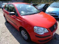 Volkswagen Polo 1.2 E (LONG MOT + CLEAN CAR) (red) 2009