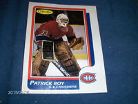 O-PEE-CHEE PATRICK ROY COLOR PRINT-NHL-CANADIANS-SHERWOOD